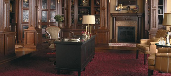 McCabinet Has The Ability To Build Very Custom To Semi Custom Office  Cabinets To Maximize Space And Convenience. Office Cabinets For All Your  Books And ...