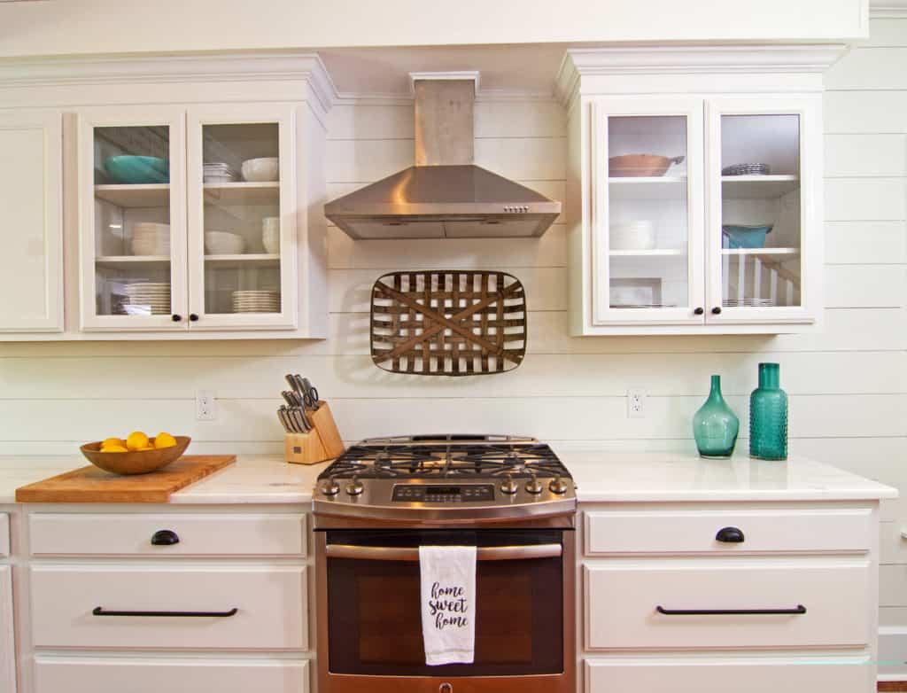 mccabinet kitchen stove