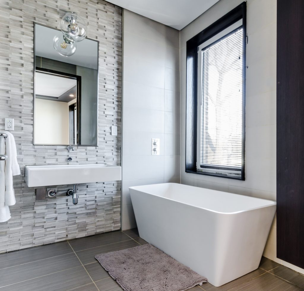 Window placement is an important factor to consider when remodeling a bathroom