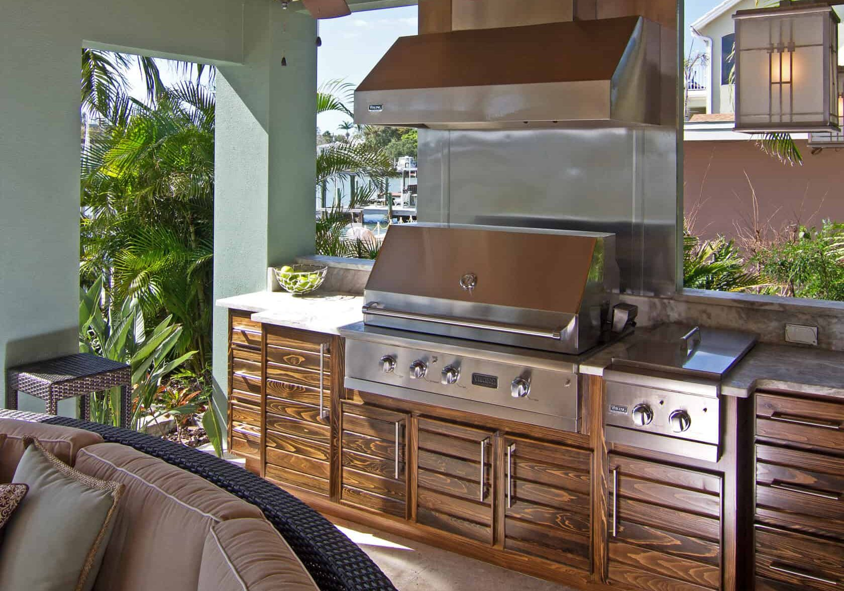 mccabinet outdoor kitchen