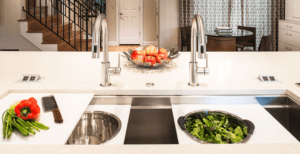 galley sink, luxury sink, kitchen design