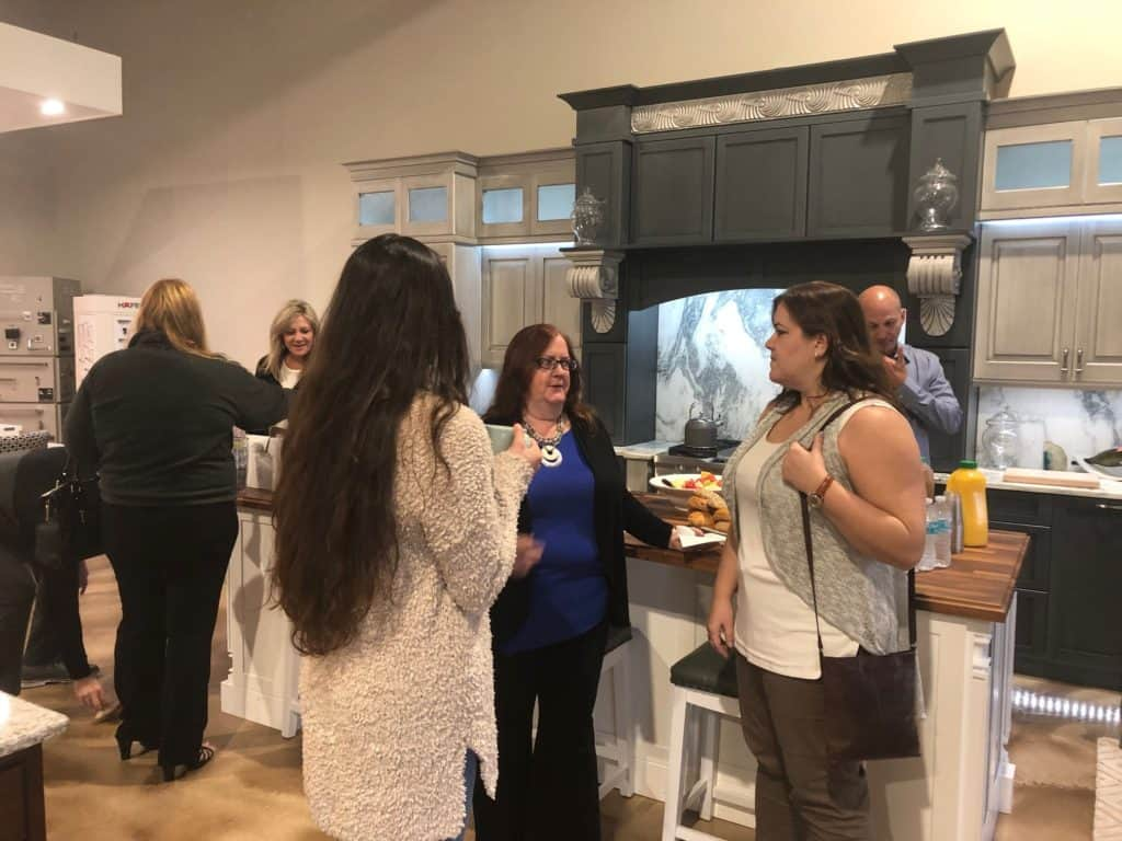 Pinellas County realtors networking at McCabinet in Largo