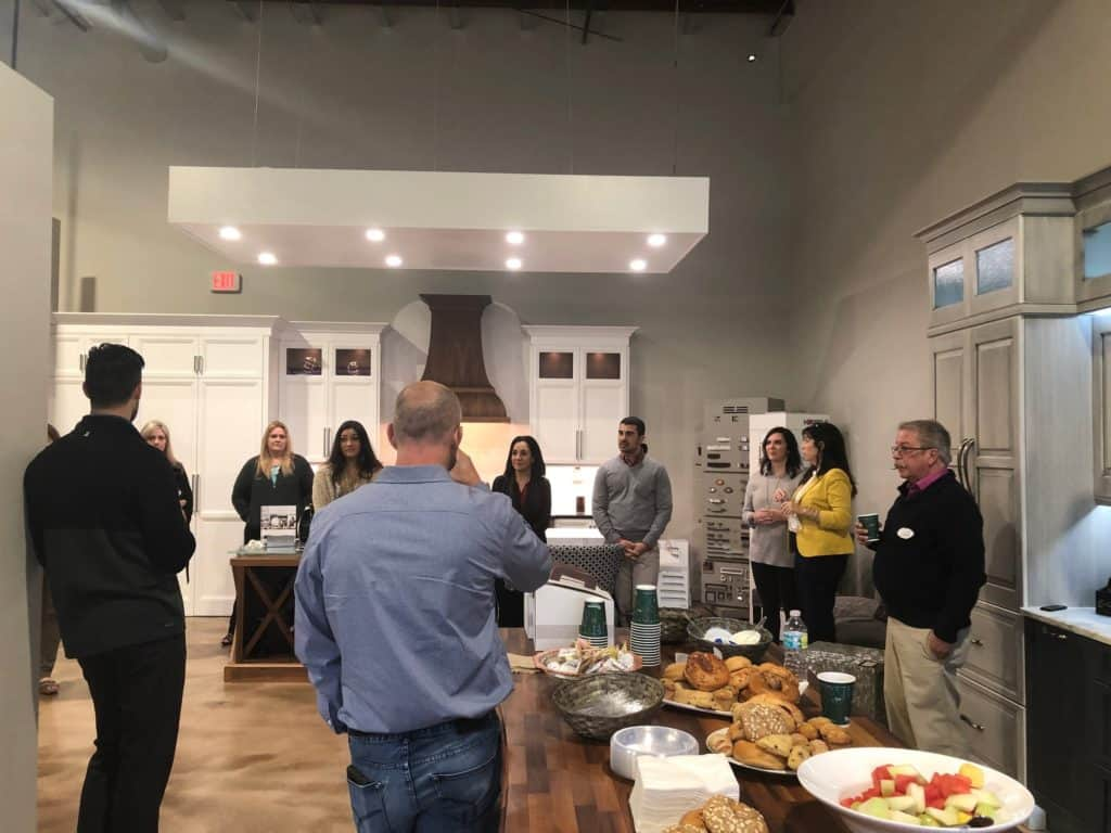 realtor network event at McCabinet in Largo