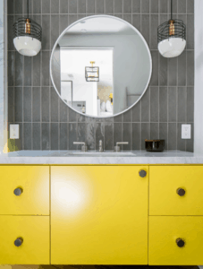 mccabinet yellow sink cabinet largo tampa florida